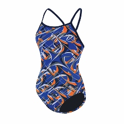 Dolfin Predator V-back blue/orange MAIN