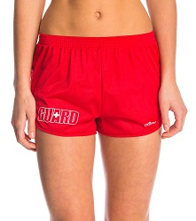 Dolfin Female Cover-up Short With Lifeguard Logo_LARGE