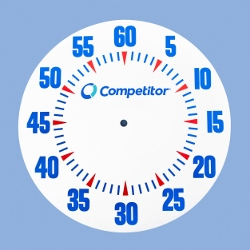 "Competitor31"" Color Dial Face"
