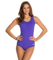 Dolfin Aquashape Reliance Solid Conservative Lap Suit LARGE