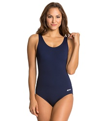 Dolfin Aquashape Moderate Scoop Back Solid Color LARGE
