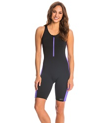 Ladies Zip-Front Aquatard LARGE