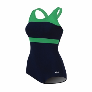 Dolfin Conservative Lap Suit Color Block MAIN