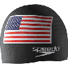 Speedo Silicone Flag Swim Cap THUMBNAIL