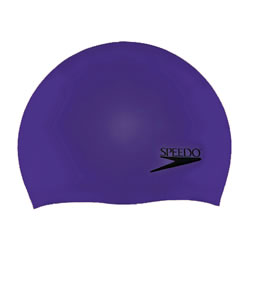 Speedo Solid Silicone Cap THUMBNAIL