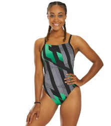 Speedo Endurance+ Pinstripe Flight Flyback One Piece MAIN