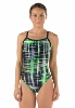 Speedo  Laser Sticks Flyback Girl's Swimsuit