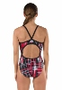 Speedo Laser Sticks Flyback Women's Swimsuit Mini-Thumbnail