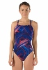 Speedo Turbo Stroke Endurance Flyback Girl's Swimsuit SWATCH