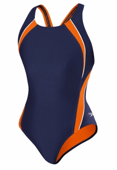 Speedo PowerFLEX ECO Taper Splice Pulse Back Adult Swimsuit