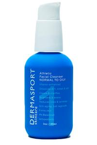 DERMASPORT ATHLETIC FACE WASH -