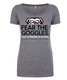 Fear the Goggle Tri blend Ladie's Tee SWATCH