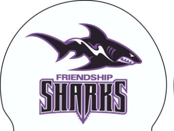 Friendship Sharks Silicone Cap