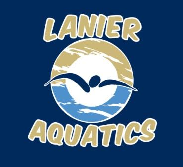 Lanier Aquatics Silicone Team Cap MAIN