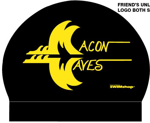 Macon Waves Silicone Cap