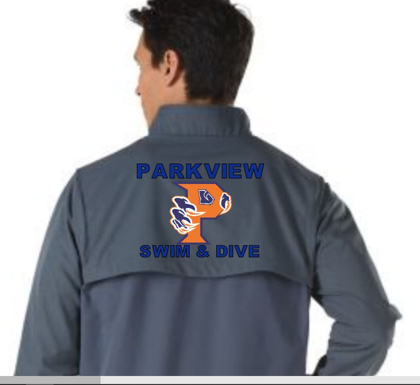 Parkveiw - Male Warmup Jacket w/team logo THUMBNAIL