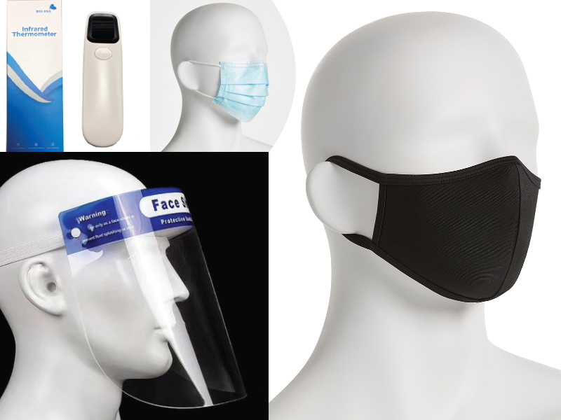 Health Items for Swim Teams PPE