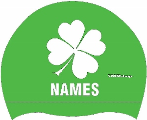 Shamrock Silicone Cap w/name MAIN