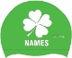 Shamrock Silicone Cap w/name Mini-Thumbnail
