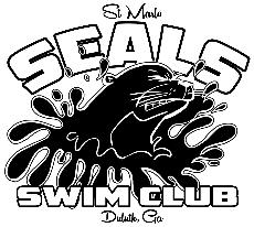 Saint Marlo Seals Swimming