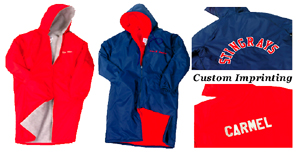 Athens Bulldog Swim Club Team Parka Delux