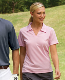 Lassiter Parent Golf Shirt Steele Gray with embroidery