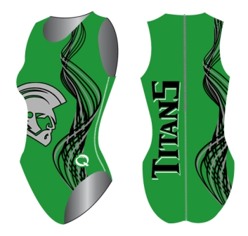 West Salem Titans Female Water Polo Suit