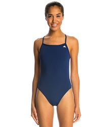 River Ridge - FM C-Back suit w/logo (thin straps/open back)