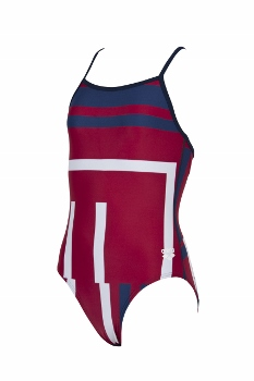 Arena Electron Light Drop Back Youth Swimsuit