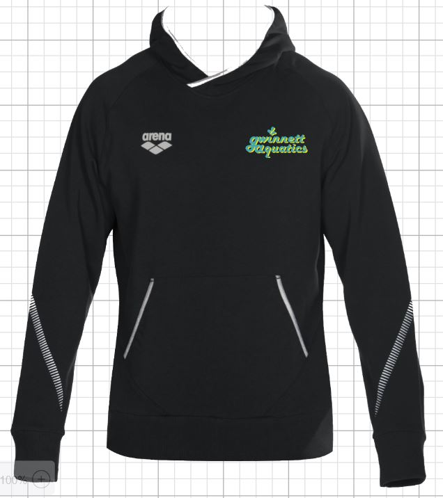 Gwinnett Aquatics  TL Hoodie with embroidery