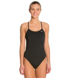 Nike Poly Solid - Cut Out One Piece
