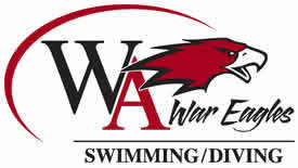 Woodward Academy Swim & Dive Team