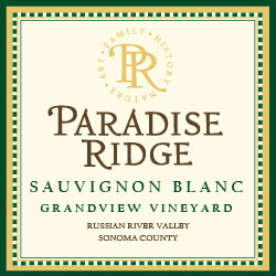 Paradise Ridge Estate Sauvignon Blanc 2016