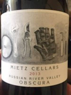Mietz Cellars Obscura 2015 - Russian River MAIN