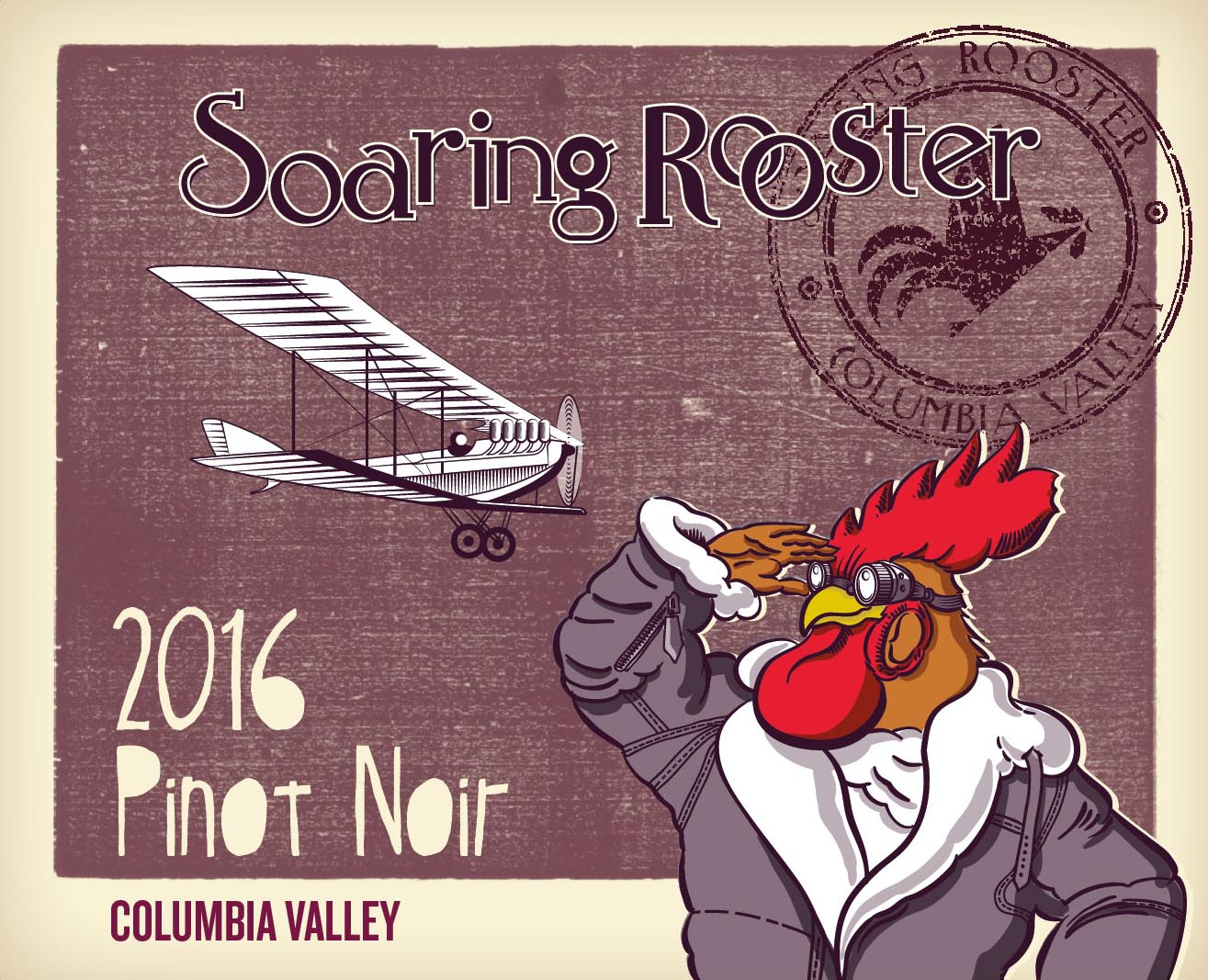 2016 Soaring Rooster Pinot Noir MAIN