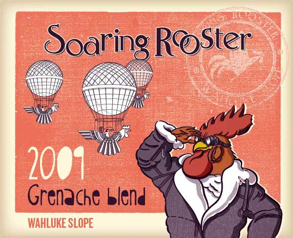 2009 Soaring Rooster Grenache
