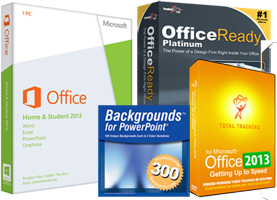 Microsoft Office 2013 Home & Student Essentials Bundle (Download) FOR WINDOWS