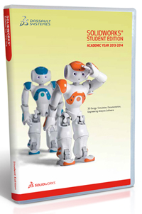 SolidWorks Student Edition 2013-2014 (WIN 8.0, 7, VISTA)