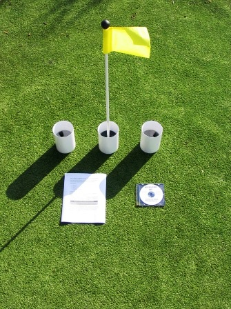 Putting Green Accessories - Cups, Markers, Flags