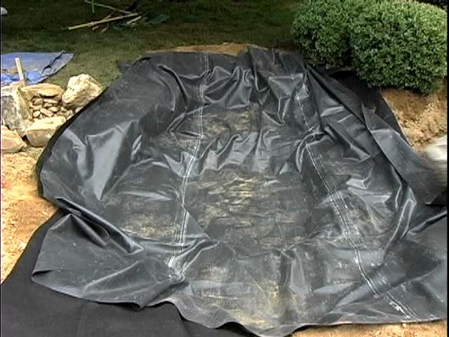 Water Garden Pond Products Liner Underlayment Seam