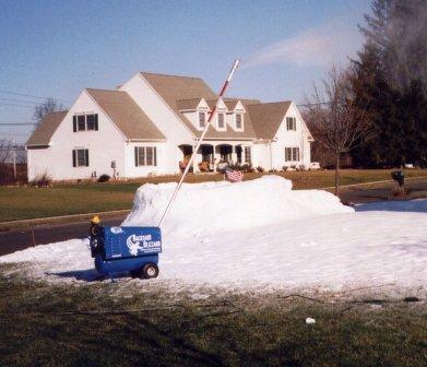 real snow making machine rental