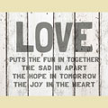 Light Box Insert - Love Puts the Fun in Together