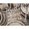 Light Box Insert - Vintage Tableware - Together is the Best Place to Be