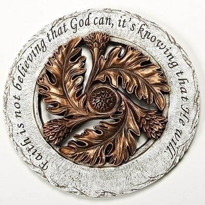 "12"" Inspire Stepping Stone - Faith is not Believing..."