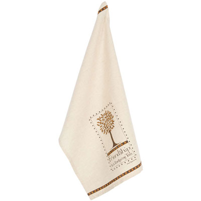 """Friendship is a Sheltering Tree"" Dish Towel"