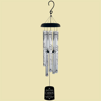 "40"" Serve the Lord Signature Series Wind Chime"