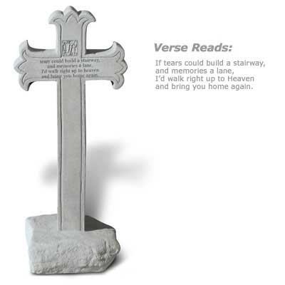 If Tears Could Build...Cross Obelisk with Base