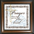 Prayer... Framed Glass Decor