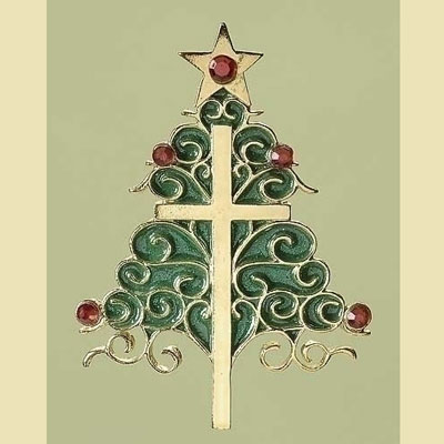 The Christmas Cross Ornament