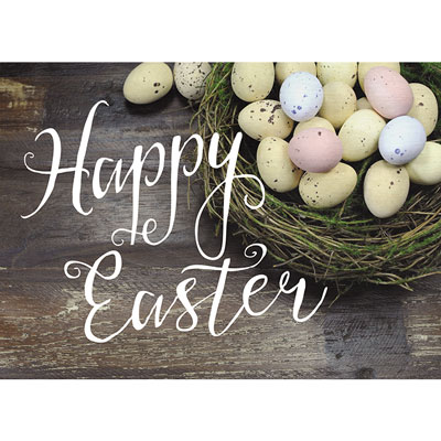 Photo Light Box Insert - Easter Eggs - Happy Easter